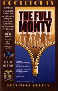 FULL MONTY (Maltz Jupiter) playbill cover