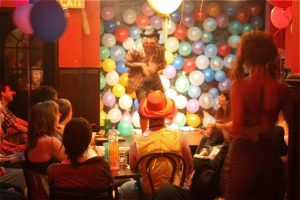 Clown Bar production photo