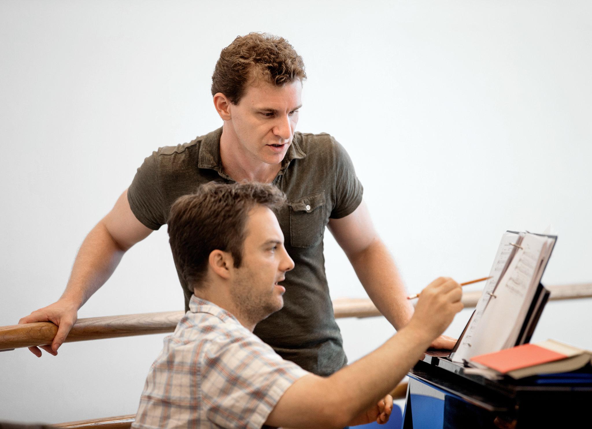 Adam & Vadim Feichtner in rehearsal