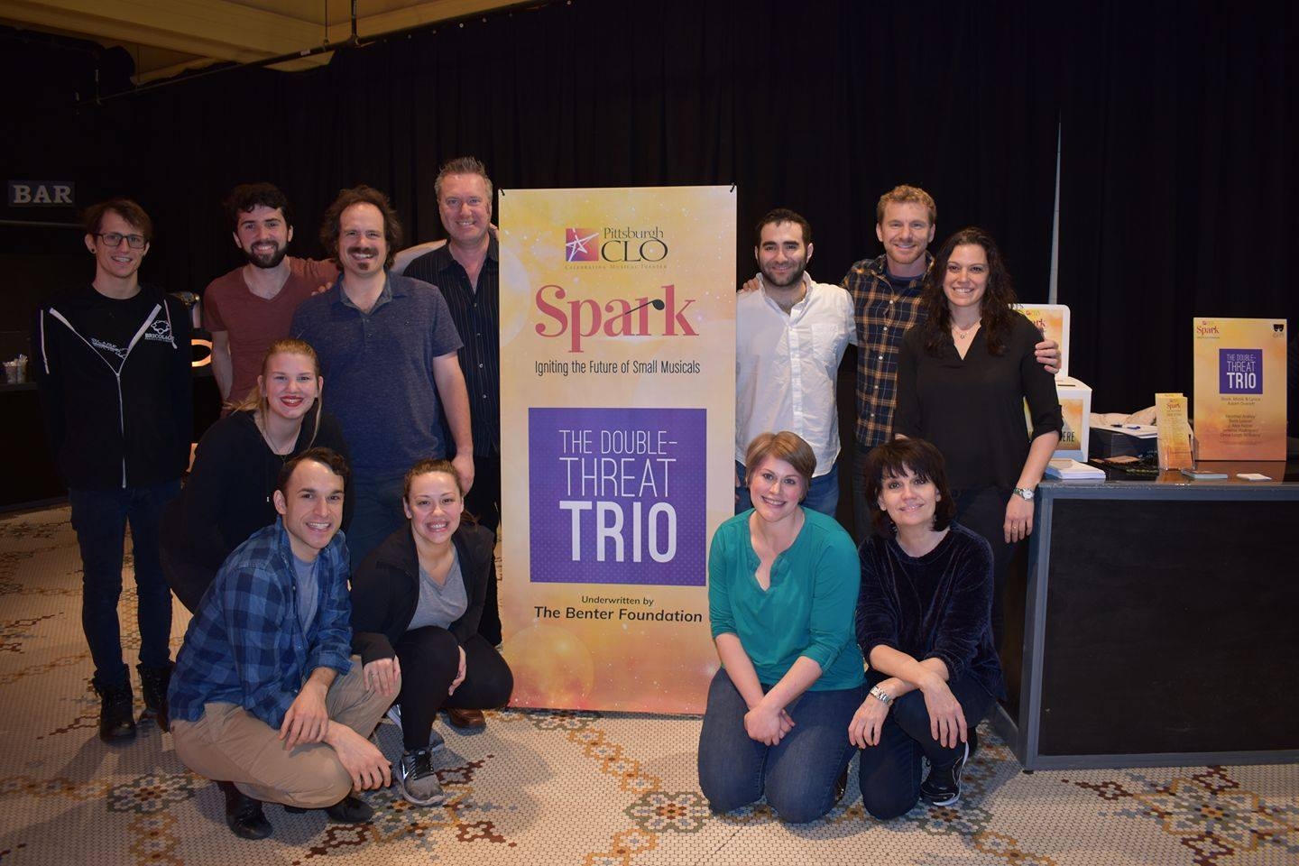 MAR 19 – APR 7, 2018 – Tony winner Beth Leavel joins THE DOUBLE-THREAT TRIO staged workshop at Pittsburgh CLO's Spark Festival!