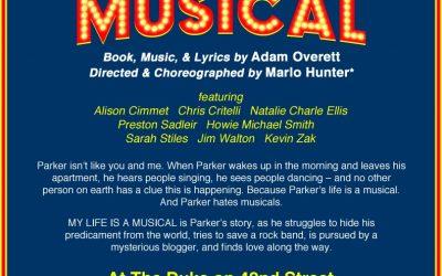 DEC 9-10, 2012 – MY LIFE IS A MUSICAL lab  presentations!